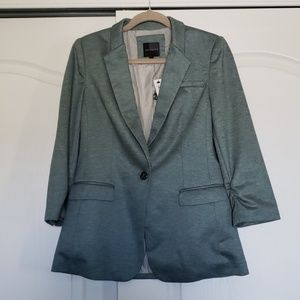 NWT The Limited green blazer Sz M